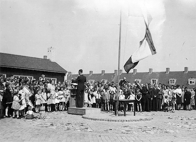 May 31, 1945, liberation party in Emmeloord.