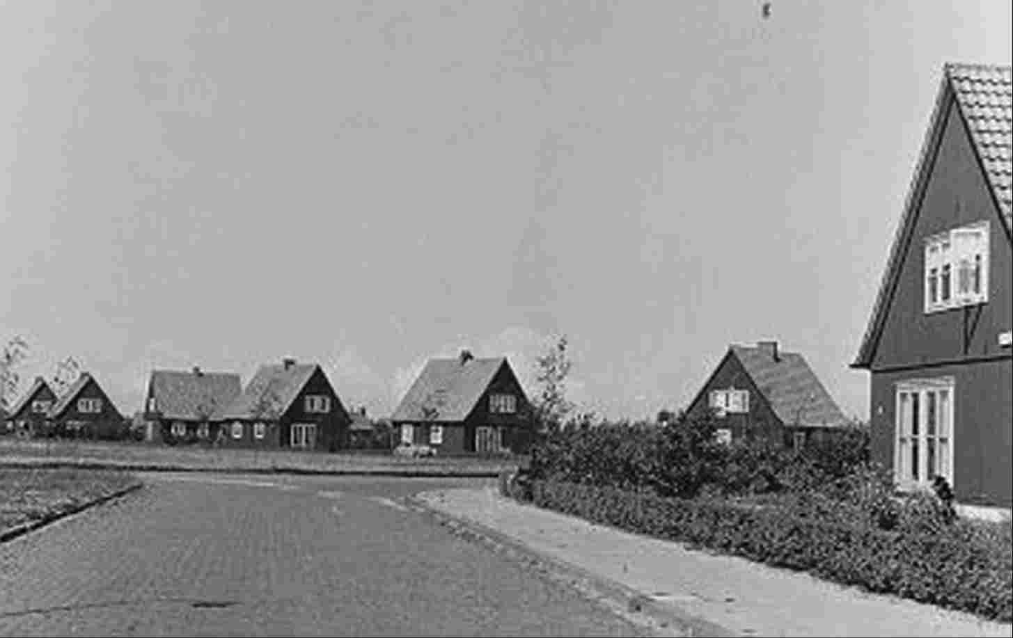 Austrian homes at the Acacialaan, 1951.