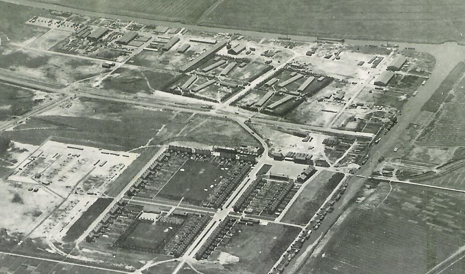 The camps in Emmeloord, 1947.